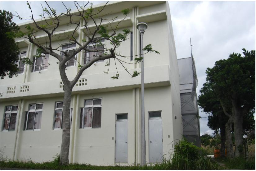 沖縄高等特別支援学校外壁補修